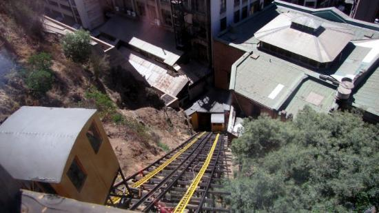 Valparaiso, Chile: Funiculars