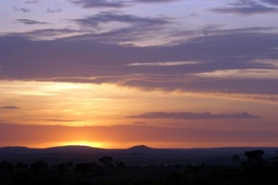 Arusha, Tanzania: Tanzanian sunset