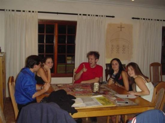 Johannesburg, Sør-Afrika: Around a table of fellowship!