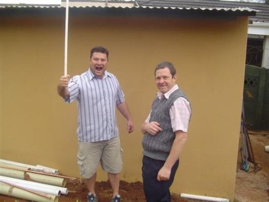 Johannesburg, Sør-Afrika: Deon Pohorille, and Darrol Wright