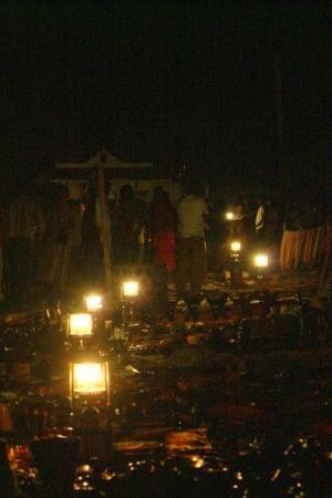 Steinbyen på Zanzibar, Tanzania: Night market