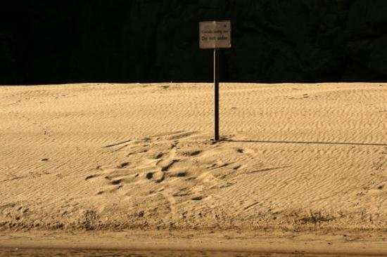 Katherine, Australia: DO NOT ENTER - croc egg laying area
