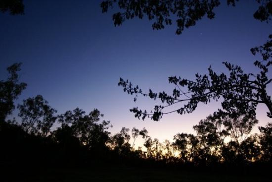 Katherine, Australia: sunrise, Springvale Homestead