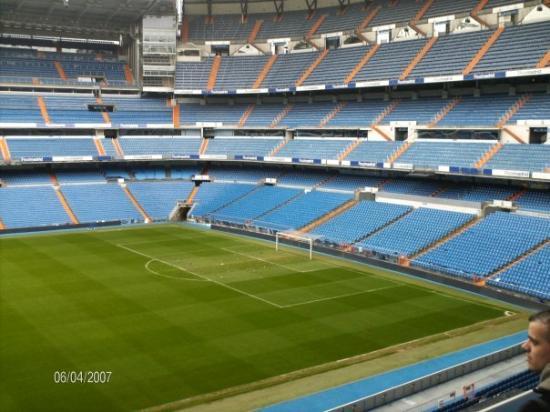 Bilde fra Stadio Santiago Bernabeu