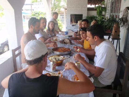 Paranagua, PR: Lunch at Grandmas