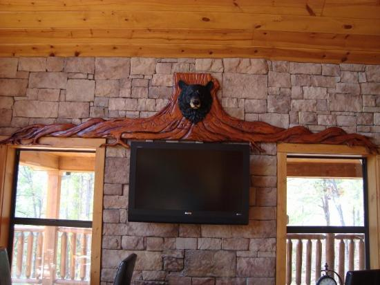 Sevierville, TN: NEW BEAR ADDITION TO THE CABIN