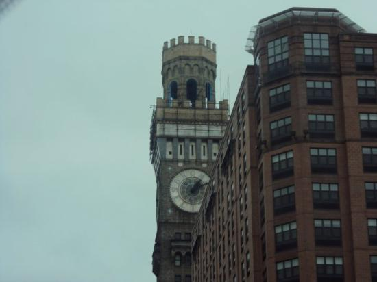Baltimore, MD: I thought this looked like the clock tower from back to the future