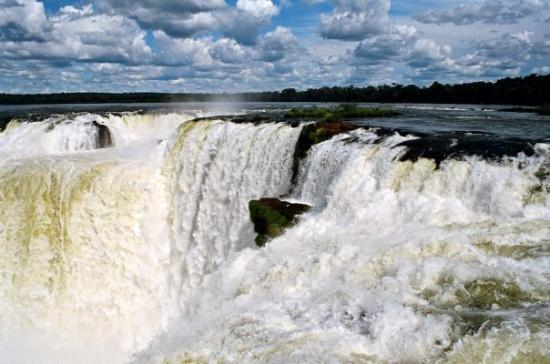 Puerto Iguazu, Argentina: The Iguassu Falls