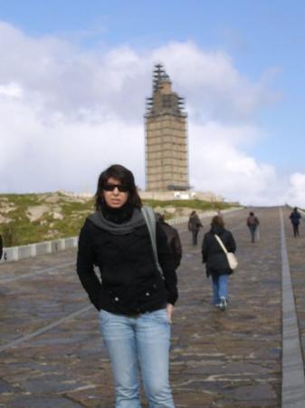 La Coruña, Spania: Torre de Hercules - Corunha