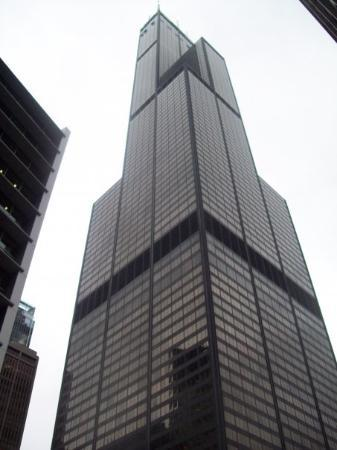 Skydeck Chicago - Willis Tower: The Sears Tower.I'm still going to call it that.