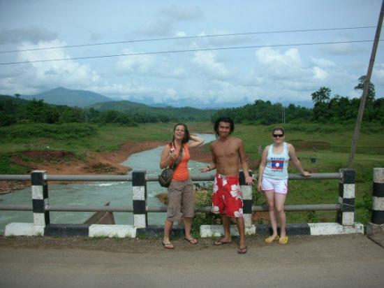 Vang Vieng, Laos: Motorbiking in the countryside...