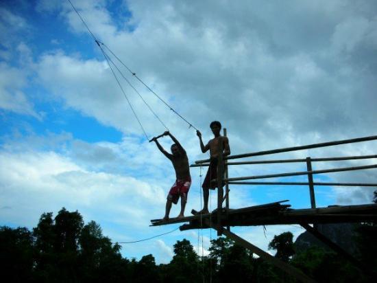 Vang Vieng, Laos: Giver, Pete...
