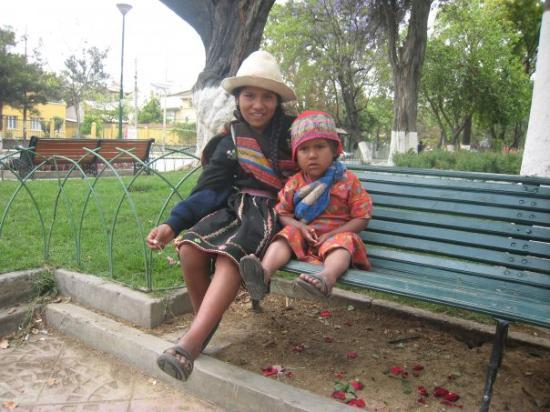 Babies that shared their photo with me.  Each time I have return to Cochabamba I  look for these