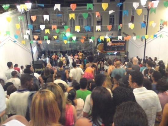 Salvador, BA: Povão no Gerônimo Santana às terças feiras