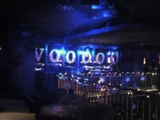 Inside the VooDoo Lounge at the Rio.