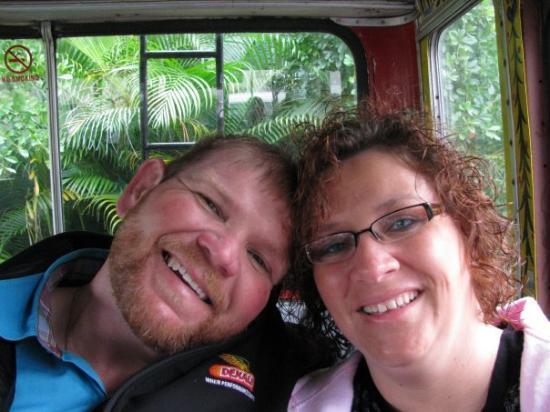 Ocho Rios, Jamaica: on our way to Bob Marley's