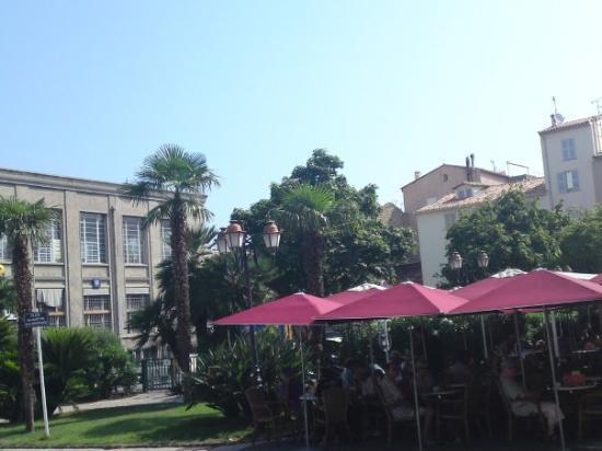 Antibes, Frankrike: un café à juan les pins