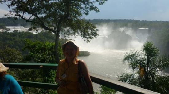 Puerto Iguazu, Argentina: Cataratas Iguazú lado brasilero