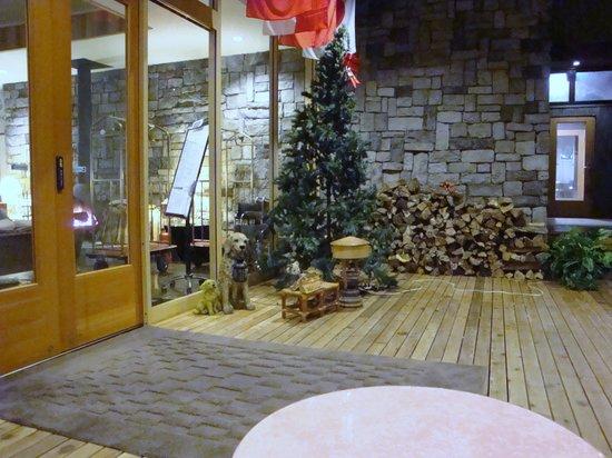 Hotel Sierra resort Hakuba: 落ち着いてかわいいスペースでした。