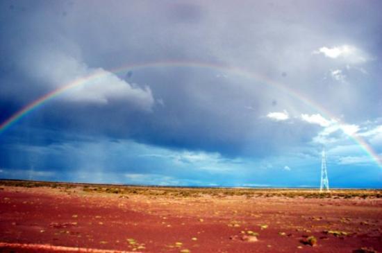 Uyuni, Bolivia: 虹