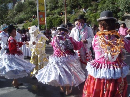 La Paz, Bolivia: くるくる