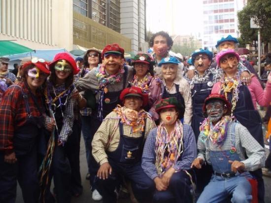 La Paz, Bolivia: カントリーなひとたち