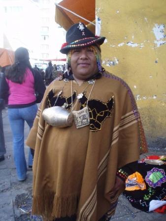 La Paz, Bolivia: かわいいねおっちゃん