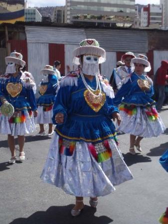 La Paz, Bolivia: マスクマン