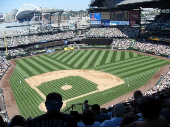 SAFECO FIELD - Mariners vs. Indians