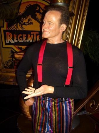 Madame Tussauds London: Robin Williams...sooo funny!