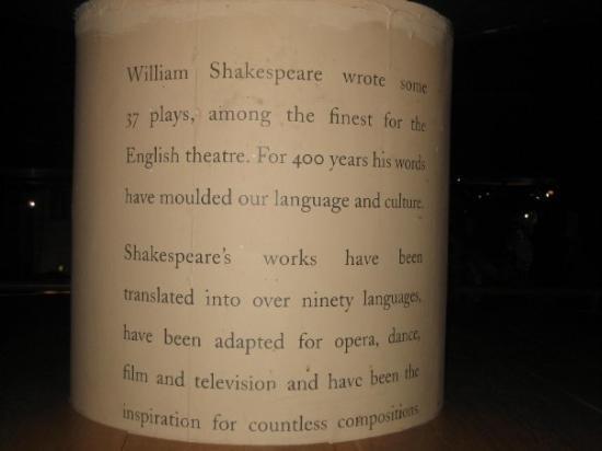 Bilde fra Shakespeare's Globe Theatre