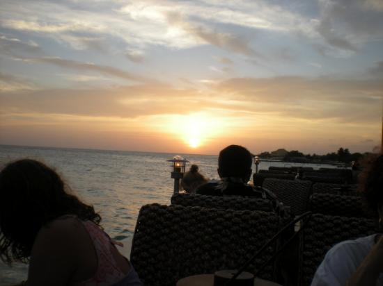 Oranjestad, Aruba: Sunset at Aruba