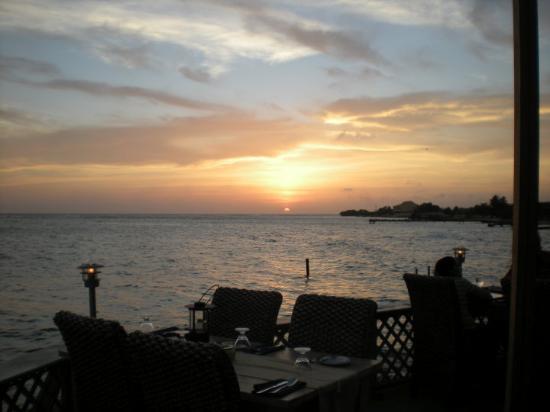 Oranjestad, Aruba: Sunset at Aruba