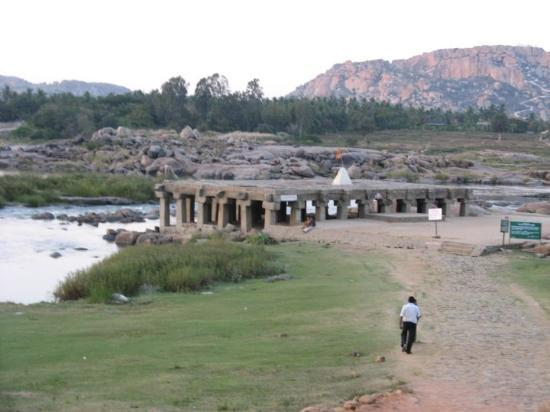 Hampi, India: purandara mantapa - a place where purandaradasaru spent his last days.