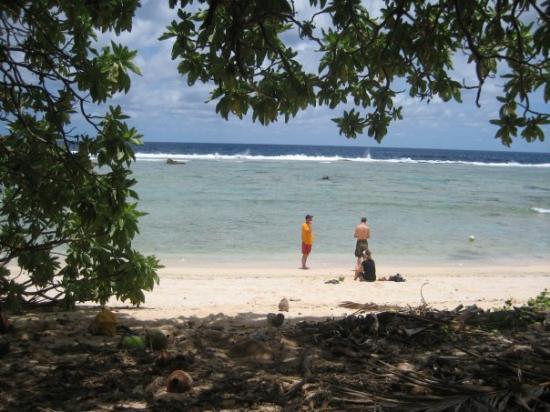 'Eua Island at Fangatave Beach.