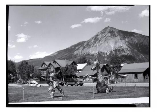 Gunnison, CO: St George and the Dragon, Crested Butte