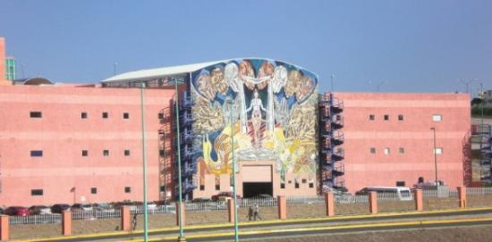 A building at the Mexican University I'm studying at in Chihuahua