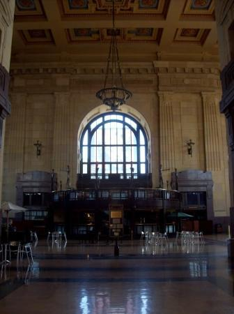 Kansas City, MO: Inside of Union Station.