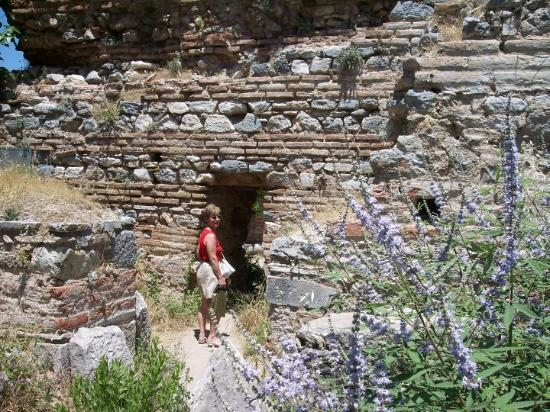 "Kusadasi, Tyrkia: Entrance to the ""Brothel"" The one place in the Roman Baths they didn't tell us about in world hi"