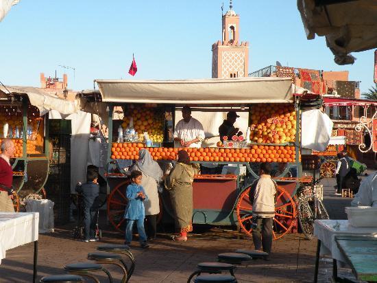 Marrakech, Marokko: Jama'a el-Fnaa