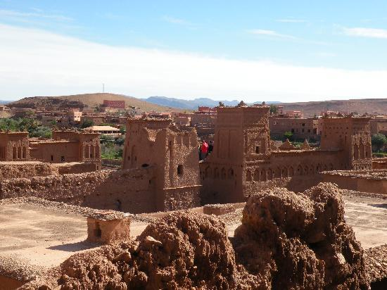 Kasbahene i Ait Ben-Haddou: View from Kasbah