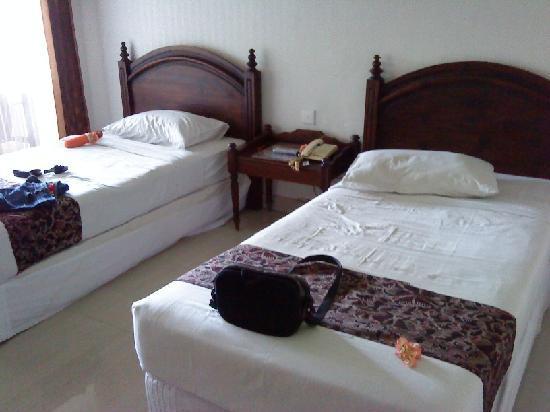 The Taman Ayu: bedroom