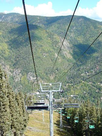 Snakedance Condominiums: Taking the Summer Chair Lift to the top!