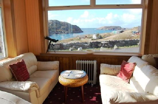 Kinlochbervie Hotel: Enjoy the lounge view