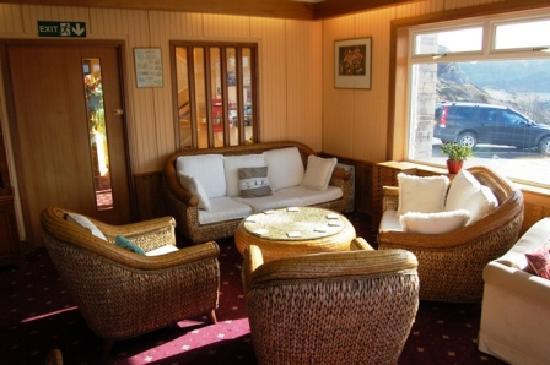 Kinlochbervie Hotel: Lounge