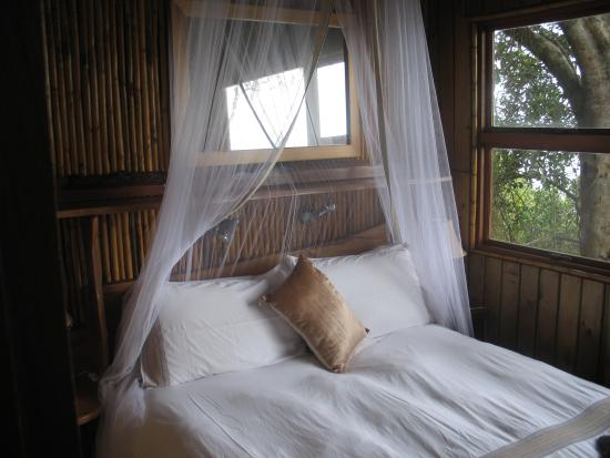 Wilderness Bushcamp: The lovely bedroom