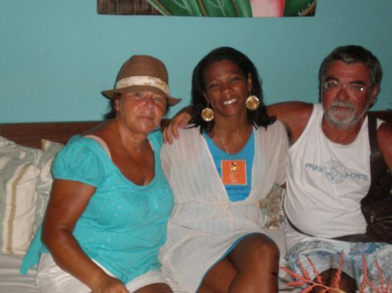 Pousada Sobrado da Vila: A simpática Cynthia