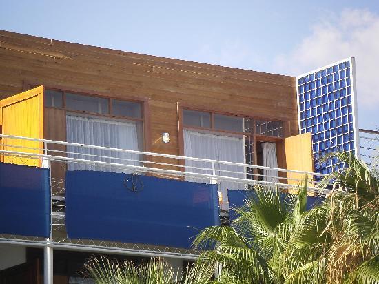 Lido Sharm Hotel: our balcony