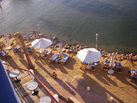 Lido Sharm Hotel: private beach area