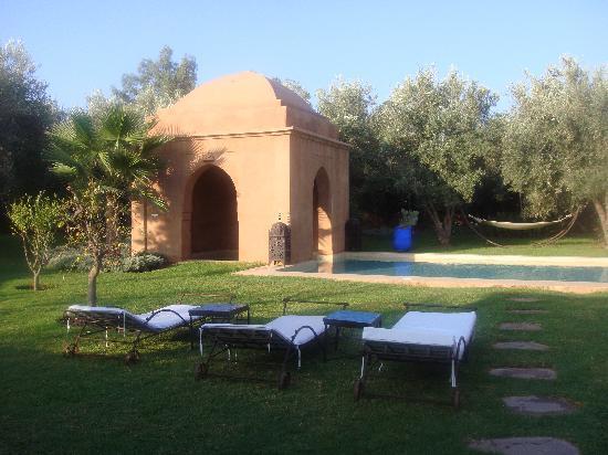 Villa d'Akhdar: la piscine